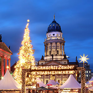 Christmas City Talk auf dem Gendarmenmarkt