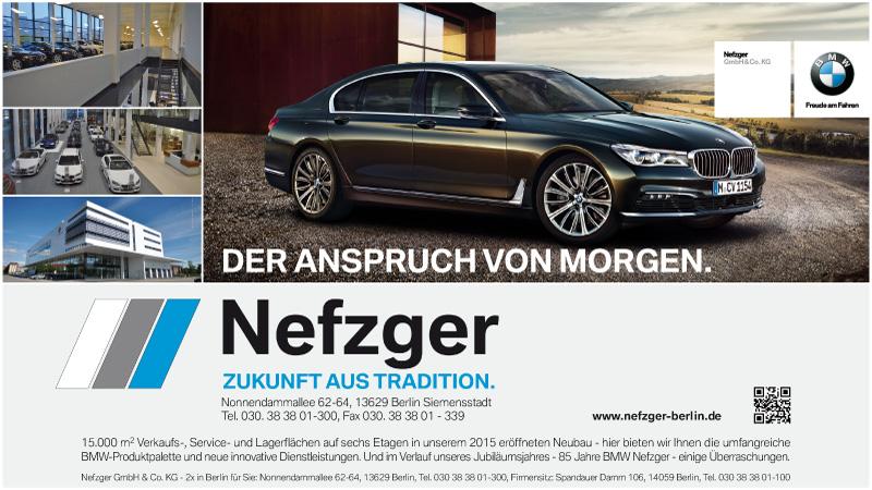 Ag City Newsletter Sondernewsletter 100 Jahre Bmw Nefzger Newsevents
